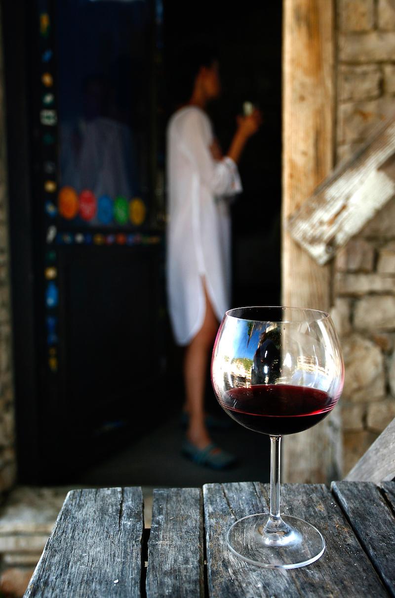 Local wine, vineyard, Island of Vis