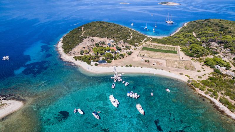 Budikovac Island, croatia