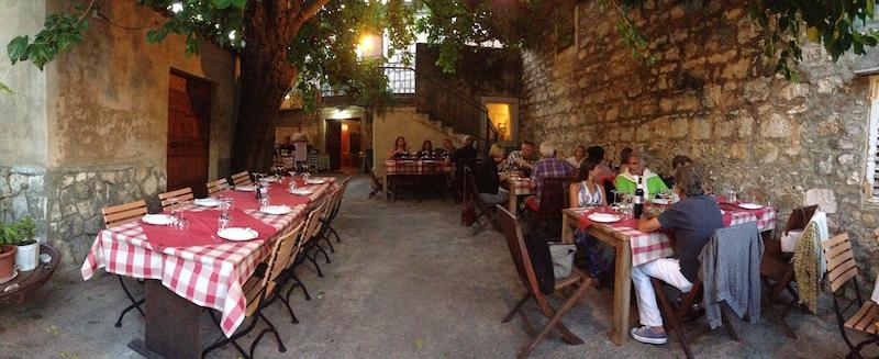 Restaurant Roki's, Island of Vis
