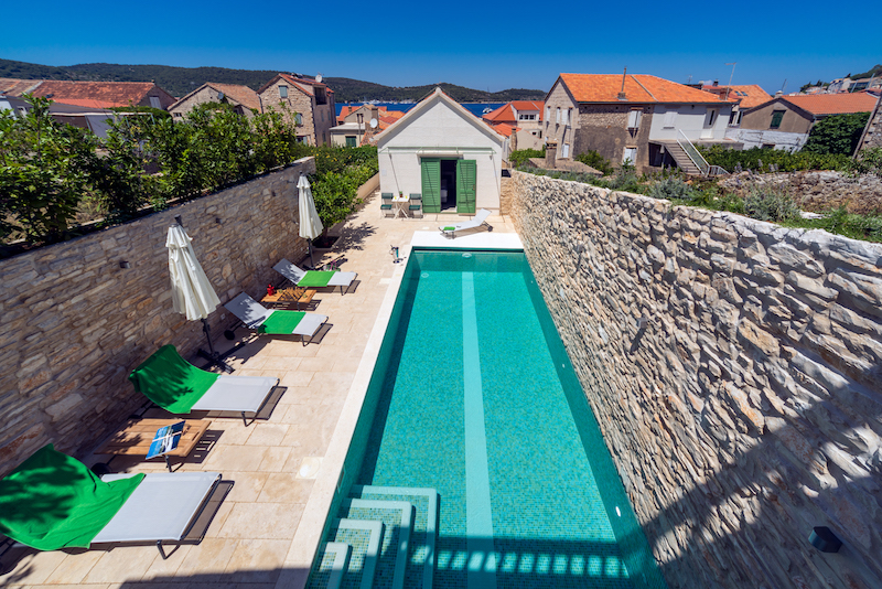 Island of Vis, Croatia, Pool, The Upper House