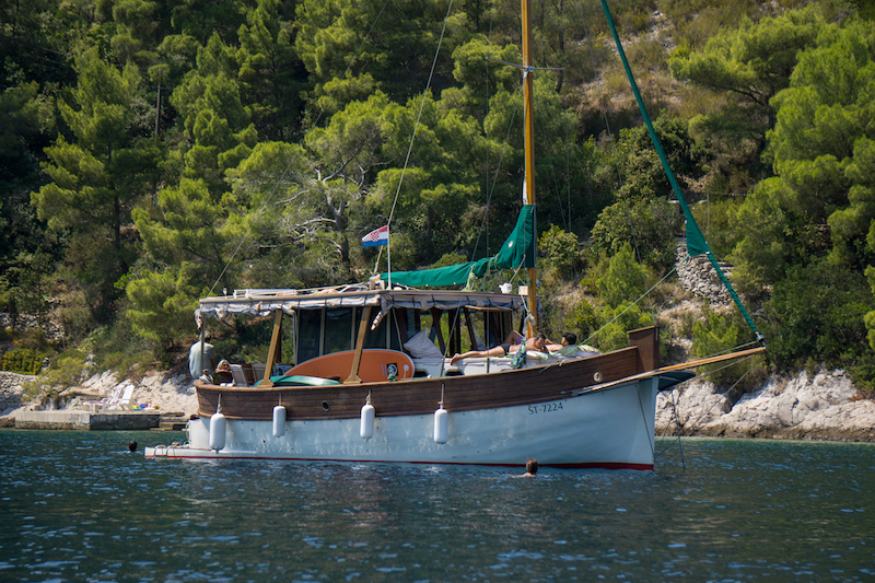 Boat, Legenda, Island of Vis, Water, sun