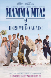 Mamma Mia 2 Here We Go Again, Island of Vis
